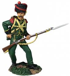 Nassau Grenadier Reaching For Cartridge No. 2 1815