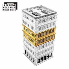 15mm Cold War Gone Hot: Tennament Block 1 Add-on (extra floors)