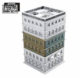 15mm Cold War Gone Hot: Tennament Block 3 Add-on (extra floors)