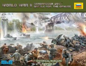 WWII Battle for the Danube an Art of Tactic Historical Wargame