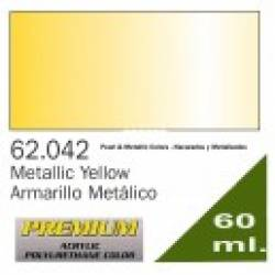 Premium Metallic Yellow 60ml