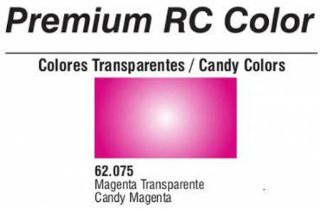 Premium Transparent Candy Magenta 60ml