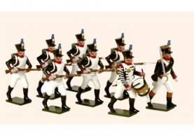 Tradition Of London #718 French Line Infantry Fusiliers Advancing