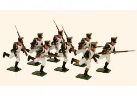 Tradition Of London #719 French Line Infantry Fusiliers Running