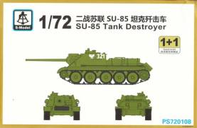 WWII Soviet SU-85 Tank Destroyer