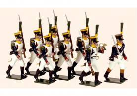 Tradition Of London #724 French Line Infantry Voltigeurs Marching