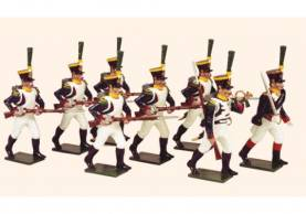 Tradition Of London #725 French Line Infantry Voltigeurs Advancing