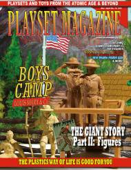 Playset Magazine Issue # 74 Marx Scout Camp