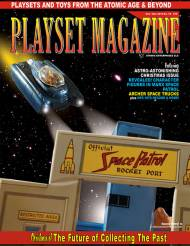 Playset Magazine Issue # 78 Space Patrol