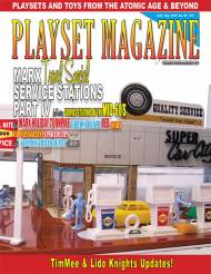 Playset Magazine Issue #82 Marx Service Stations Part IV