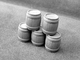 Wooden Kegs - 5 pcs