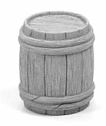 Wooden Barrel - Quarter Closed