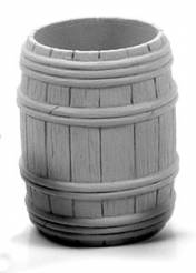 Wooden Barrel - Full Open