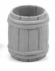 Wooden Barrel - Quarter Open