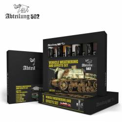 502 Abteilung Modeling Oil Paint Set -Weathering & Effects 6 Colors)
