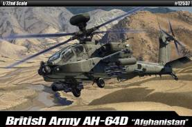 AH64D Afghanistan British Army Multi-Role Combat Helicopter