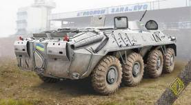 BTR70 Late Production Soviet Armored Personnel Carrier