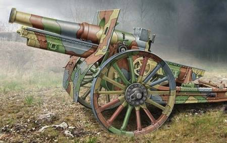 Cannon de 155C M1917 French Howitzer