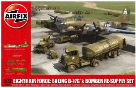 WWII USAAF 8th Air Force: B17G Aircraft & Bomber Re-Supply Set
