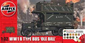 WWI B Type Old Bill Bus Gift Set w/paint & glue
