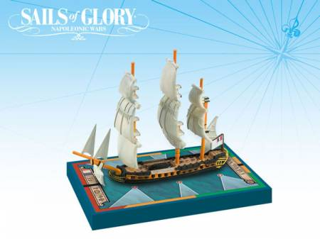 Sails of Glory - French: 40-guns Hebe Class Frigates - Carmagnole 1793