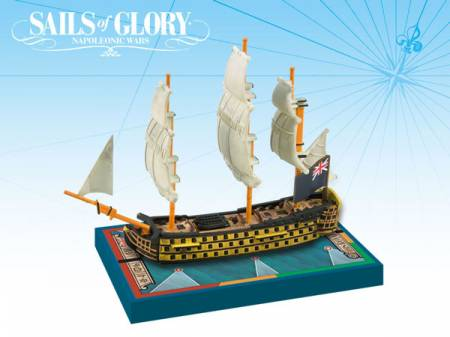 Sails of Glory - British: 100-guns First Rate Ships-of-the-Line - HMS Royal Sovereign 1786