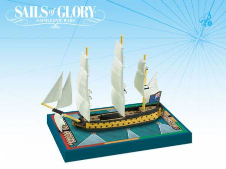 Sails of Glory - British: 64-guns Third Rate Ships-of-the-Line - HMS Polyphemus 1782/ HMS America 1777