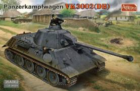 WWII PzKpw VK3002 (DB) German Tank (New Tool)