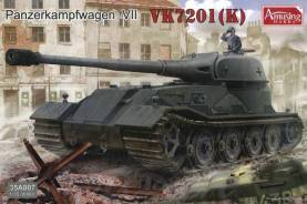 WWII PzKpw VK7201 (K) German Tank (New Tool)