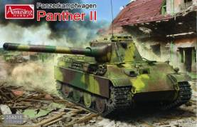 WWII PzKpw Panther II German Tank (New Parts)