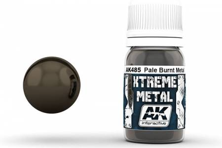 Xtreme Metal Pale Burnt Metal Metallic Paint 30ml Bottle