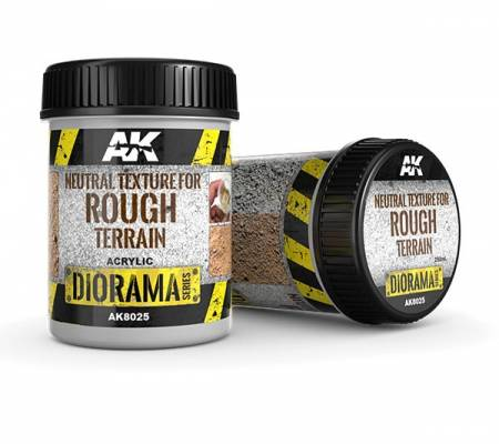 Diorama Series: Neutral Texture For  Rough Terrain 250 ml.
