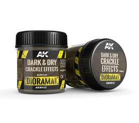 Diorama Series: Dark & Dry Crackle Effects 100 ml.