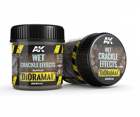 Diorama Series: Wet Crackle Effects 100 ml.