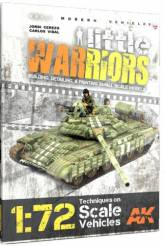 Little Warriors Vol.1: Modern Vehicles - Techniques on 1/72 Scale Vehicles Book