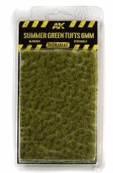 Diorama Series: Summer Green Tufts 6mm (Self Adhesive)