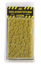 Diorama Series: Dense Autumn Tufts 8mm (Self Adhesive)