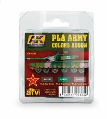 AFV Acrylic Paint Set: PLA Army Colors Add-on