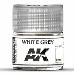Real Colors: White Grey Acrylic Lacquer Paint