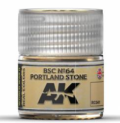Real Colors: BSC No.64 Portland Stone Acrylic Lacquer Paint