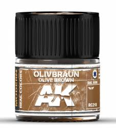 Real Colors: Olive Braun-Olive Brown RAL 8008 Acrylic Lacquer Paint