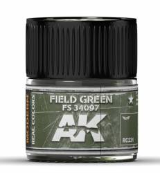 Real Colors: Field Green FS 34097 Acrylic Lacquer Paint
