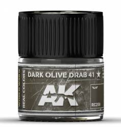 Real Colors: Dark Olive Drab 41 Acrylic Lacquer Paint