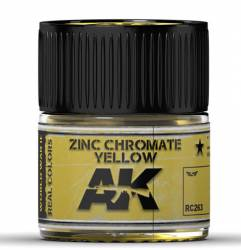 Real Colors: Zinc Chromate Yellow Acrylic Lacquer Paint
