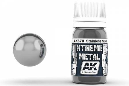 Xtreme Metal Stainless Steel 30ml Bottle