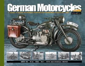 German Motorcycles of WWII: A Visual History in Vintage Photos & Restored Examples Part 1
