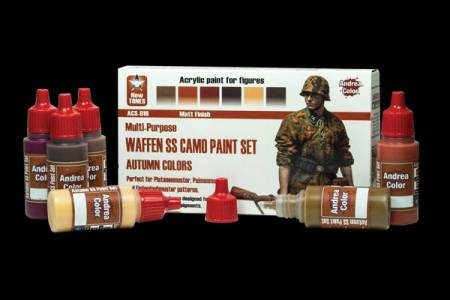 Andrea Color Waffen SS Camo Paint Set (Autumn Colors)