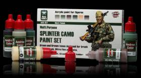 Andrea Color Splinter Camo Paint Set