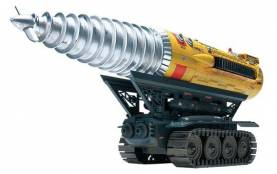 International Rescue Thunderbirds: The Mole Armored Screw Tunneling Machine