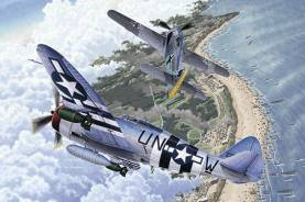 Fw190A8 & P47D Aircraft Normandy Invasion 70th Anniversary (Ltd Edition) (2 Kits)
